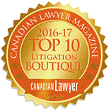 Canadian Lawyer Magazine - Top Litigation Boutique